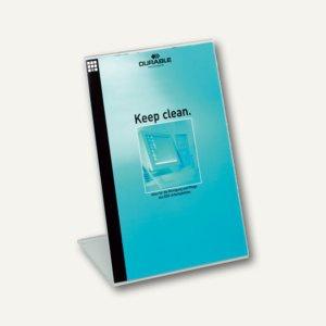 Durable Präsentationsständer, DIN A4, Acryl, glasklar, 2 Stück, 8596-19