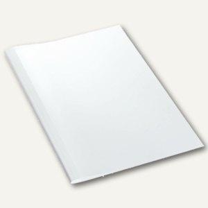 LEITZ Thermobindemappe Standard, DIN A4, 4 mm, Karton, weiß, 100 St., 177160