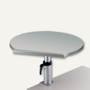 MAUL Ergonomisches Tischpult, Klemmfuß, 30 kg, höhenverstellbar, grau, 9301182