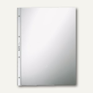 LEITZ Prospekthüllen, DIN A4, PVC 80 my, glasklar, 10 Stück, 4734-30-00