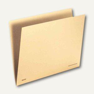 LEITZ Vorgangs-Einstellmappe Orgacolor, A4, chamois, 100 Stück, 2443-00-11