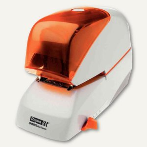 Rapid Elektrohefter 5080, Heftleistung bis 80 Blatt, silber/orange
