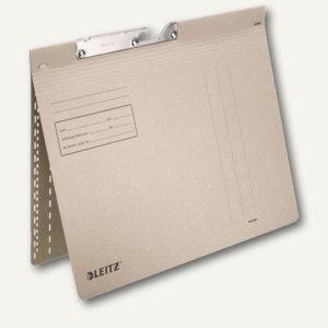 LEITZ Pendelhefter, DIN A4, 250g/qm, kaufm.Heftung, grau, 50 Stück, 2014-00-85