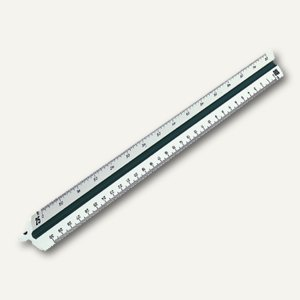 "Rumold Dreikantmaßstab "" Ingenieur DIN"", 30 cm, 150KE/DIN/30"