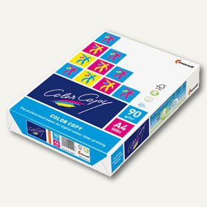 mondi ColorCopy Farbkopierpapier, DIN A4, 90g/m², 500 Blatt, A4 90g