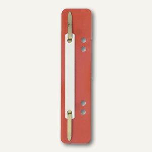 Elba Heftstreifen PP, 150 x 35mm, rot, 100 St., 100555016