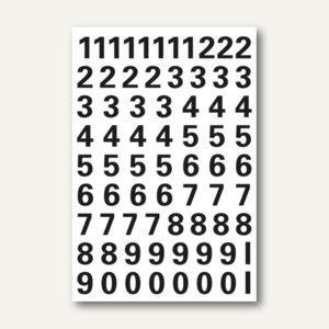 Herma Zahlen, 10mm, 0-9, wetterfest, Folie, schwarz, 10x1 Bl., 4159 - Vorschau