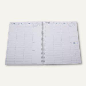 Eurequart Terminkalender-Einlage - 24 x 30 cm, 1 Woche/2 Seiten, weiß, 26003Q