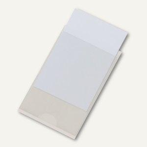 Selbstklebetasche Pocketfix 57 x 90 mm, Einsteckschild, 100 Stück, 8279-19