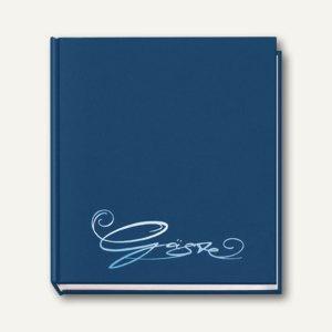 "Veloflex Gästebuch "" Classic"", 205 x 240 mm, 144 Seiten, blau, 5420050"
