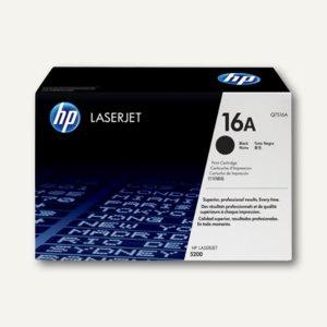 HP Toner schwarz - ca. 12.000 Seiten, Q7516A