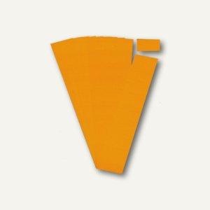 Ultradex Steckkarten für Planrecord Tafeln, 6 cm, orange, 90er Pack, 140604