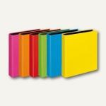 Ringbücher VELOCOLOR A5, Karton, 2 D-Ringe Ø 25 mm, sortiert, 10 Stück, 1151300