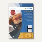 Herma Fotophan-Sichthüllen, 13x18cm, 4x quer, schwarz, 40 Hüllen, 7787