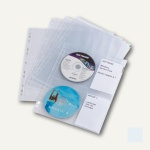 Durable CD/DVD COVER light M, transparent, 30 Stück, 5238-19