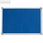 MAUL Pinnboard 2000, Textil, 100 x 150 cm, pinnfähig, blau, 6295435