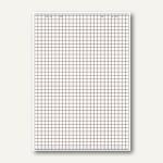 Flipchart-Block, Recyclingpapier, kariert/blanko, 5 Blöcke á 20 Blatt, 100050589