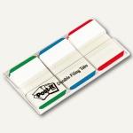 Post-it Index Strong, 25.4 x 38 mm, grün, blau, rot, 66 Blatt, 686L-GBR