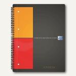 "International Collegeblock "" Activebook"" kariert A4+ versetzbares Register 80Bl."