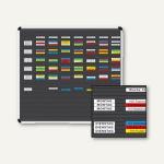Ultradex Planrecord Stecktafel, 38 Steckbahnen, 102 x 52 cm, 1035