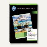 HP Broschure Value Pack Nr. 940XL - 3 Patronen CMY + 100 Blatt Papier, CG898AE