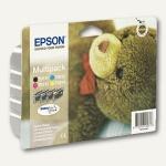 Epson Tintenpatronen-Multipack CMYK = 4 Farben, C13T06154010
