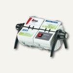 Durable Visitenkarten-Drehkartei VISIFIX® flip duo, schwarz, 2443-01