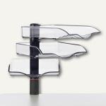 Novus CopySwinger III, 3er-Set mit Ablageschalen B4, anthrazit, 720+3005+000