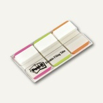 Post-it Index Strong, 25, 4x38 mm, pink, grün, orange, 66 Blatt, 686L-PGO