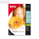 Apli Photopapier EVERYDAY, DIN A4, 180 g/qm, 100 Bögen, 11475