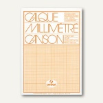 Canson Transparent-Millimeterpapier, DIN A4, 70g/m², 50 Blatt, 17145