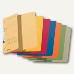 LEITZ Schlitzhefter, DIN A4, 1/2-Deckel, farbig sortiert, 50 Stück, 3744-00-99