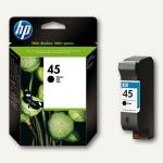 HP Tintenpatrone Nr. 45, schwarz, 42 ml, 51645AE