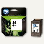 HP Tintenpatrone Nr. 56, schwarz, 19 ml, C6656AE