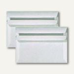 Briefumschlag C6, selbstklebend, 80 g/m², ohne Fenster, weiß, 1000 St., 24051X