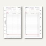 Chronoplan Zeitplaner Tagesplan Midi, DIN A6, 1 Tag/1 Seite, 50249