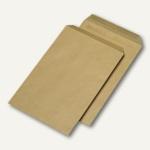 Versandtasche C4 ohne Fenster, selbstklebend, 90g/qm braun, 250 St., 382057