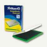 Pelikan Stempelkissen 2, 7x11cm, Metall, grün, 331033