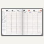 """Dohse Buchkalender """" magnum Catana"""", 1 Woche/2 Seiten, 245 x 190 mm, schwarz"""