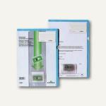 Diktathülle DIN A4, Beschriftungsfenster, Kunststoff, blau, 20 St., 2347-06