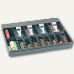 Kasseneinsatz MiNiKORD 85 RE, universal, 8 Münz-/ 4 Banknoten-/ 2 Rollenfächer