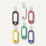 Wedo Schlüsselanhänger, Kunststoff, farbig sortiert, 100 Stück, 262803499