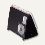 Exacompta Tisch-Flipchart Exashow, DIN A4 Querformat, PP, schwarz, 56034E