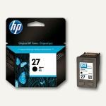 HP Tintenpatrone Nr.27, schwarz, 10 ml, C8727AE