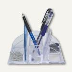 Köcher Solido Maxima, Stift-, Zettel- + Utensilienfächer, glasklar, 62760440SP