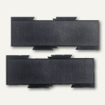 Hansa Erweiterungsplatten-Set, schwarz, 2er Set, 5880104