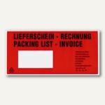 """TURA-Versandtaschen, """" Lieferschein Rechnung"""", DL, 1.000 Stück, 20670, 2067000"""