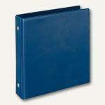 Veloflex Karteikartenordner DIN A6, 2 O-Ringe Ø 25mm, blau, 10 Stück, 4167050