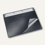 """Schreibunterlage """" Durella soft"""", 63 x 50 cm, 3-Jahreskalender, schwarz, 47656"""