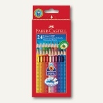Buntstift Colour GRIP, Dreikant, Namensfeld, Mine 3mm, 24er Karton-Etui, 112424